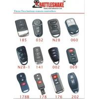 China 3 button engine start Car Alarm Remotes controllers  for vibration shock sensor, 433Mhz on sale