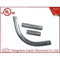 Quality 3/4 90 Degree Elbow IMC Conduit Fittings Electro Galvanized Both End Threaded for sale