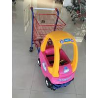 Buy cheap Metal Kids Shopping Carts , Kids Shopping Trolley Travelator Casters CE / GS / from wholesalers