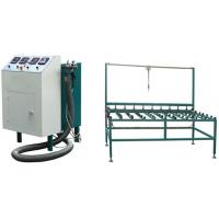 Quality Green Colour Hot Melt Machine For Double Glazing With CE Certification for sale