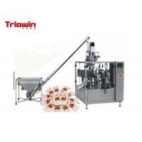 Quality Three / Four Sides Pouch Packaging Line PET / PE Seal Packing Machine for sale