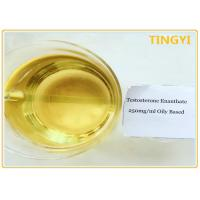 China Oil Injectable Anabolic Steroids Testosterone Enanthate 250 / Test E 250mg / ml For Weight Loss on sale