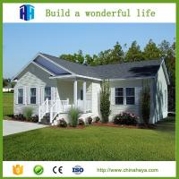 China prefabricated steel frame demountable 4 bedroom house prefab homes plans on sale