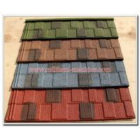 China Corrugated Stone Coated Steel Roofing Tile Sheet, Cheap Metal Building Materials on sale