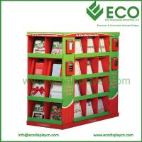 Quality Christmas Ornament Display Stand, Cardboard Pallet Display Stands For Christmas Card for sale
