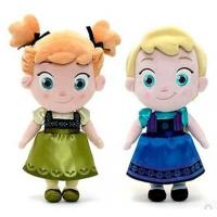 Quality Disney Frozen Ana and Elsa Baby Plush toys for sale
