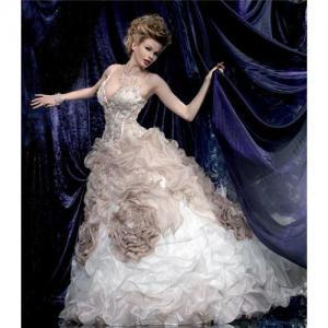 China 2010 new sexy Christmas bridal wedding dress S 08 on sale