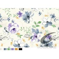 Best Watercolor print and transfer paper Sublimation Cutain And Bedding fabric printing paper wholesale