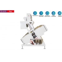 China CCD Color Seperation Machine Of Chute Type With Power 4KW Voltage AC220V 50HZ for sale