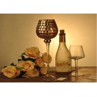 Best Stemware Mosica Vintage Glass Candle Holders For Wedding Eco Friendly wholesale