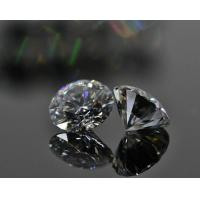 Buy cheap 3ct 9mm Synthetic Moissanite Diamond Round Shape DEF Color For Fine Jewelry from wholesalers