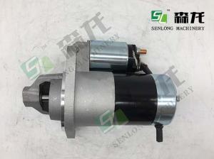 China 12V 11T   High Power  Starter For Yanmar  Engine  Komatsu  CASE  NEW HOLLAND MINI  Excavator PC30 3D88E  129424-77010 on sale