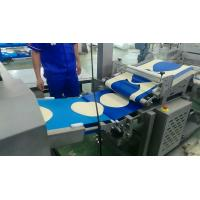 Quality Minimum 2.5 Mm Thickness Automatic Pizza Making Machine Pizza Base / Crust Production Line for sale