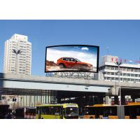 China Digital RGB P8 Outdoor Fixed LED Display Billboard With Breakdown Indicator Lights on sale