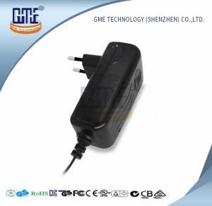CCTV Cameras EU Plug Power Adapter AC DC  Black 90V - 264V AC Input Voltage
