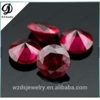 Best Synthetic corundum rough/Synthetic ruby red corundum wholesale