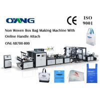 Quality PP Woven Bag / Automatic Carry Bags Manufacturing Machines Eco Friendly for sale
