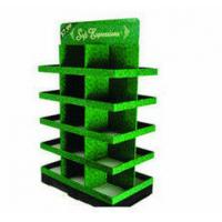 Quality Customized Floor Stand, 4-Side cardboard floor displays, creative Point Of Sale displays for sale