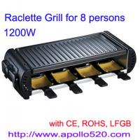 Quality Raclette Grill for 8 persons for sale