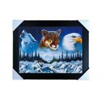 China PS Frame Stock  3D PET Lenticular Printing Services Wall Decorative Picture on sale