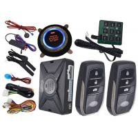 China Motion Sensor Car Alarm Smart Car Alarm System With Auto Central Lock Or Unlock on sale