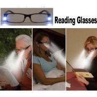 China Reading glasses with LED light RG123 on sale