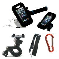 Best 5 in 1 IPX8 Waterproof Case Armband Bike Mount Holder Case 360 Rotation for iPhone 5 5S wholesale