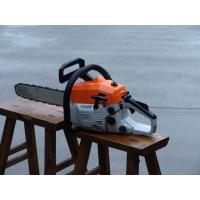 Quality 2 Stroke Lightweight Gas Chainsaw With 45cc Displancement 20 Inch Bar for sale