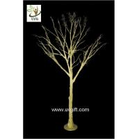 Best UVG 10ft artificial gold wishing tree with decorative twigs for party table decorations DTR30 wholesale