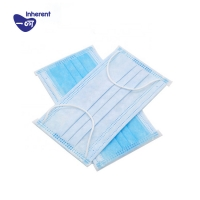 Quality Three Layer 17.5×9.5cm Surgical Face Mask for sale