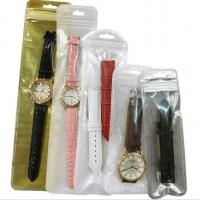 Quality Underground booth plastic watch bag PVC transparent bags with logo for sale