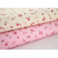 Soft Floral Stretch Corduroy Fabric Cloth For Baby Children