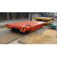 Quality 50T Electric Transfer Cart Cement Lined For Long Distance Transportation for sale