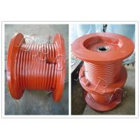 Quality D-DN19 Model Lebus Grooved Drum , Wire Rope Hoist Drum For Hoisting for sale