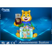Cute Candy Bear Hammer Arcade Amusement Game Machines For Game Center for sale