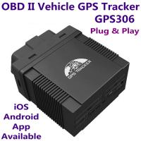 GPS306 OBD II Car Vehicle Security GSM GPRS GPS Tracker + Car On-Board Diagnostics Trouble-Shoot Tool W/ iOS/Android App