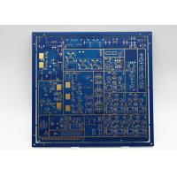 Buy cheap Blue silkscreen 8L Immersion Gold Computer Print Citcuit Board from wholesalers