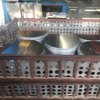 Quality Construction 3000 Series 3003 Aluminum Round Circle Hard Anodizing Enameling for sale