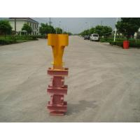 Quality Potain Tower Crane Spare Parts Q345 Steel Finxing Angle Yellow Color With Waterproof Plating for sale