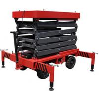 450Kg Elevating Small Mobile Scissor Lift Telescoping for Hospital /  Theatre , 3m Height