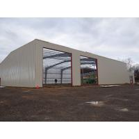 China Galvanized Or Painting Warehouse Steel Structure / Metal Building Structure on sale