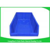 Quality Customized Industrial Plastic Storage Containers , Standard Size Stackable Storage Bins for sale