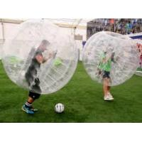 China Durable PVC / TPU Inflatable Sports Games 1.2m 1.5m 1.8m Body Soccer Ball on sale
