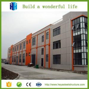 China Prefab Multi Floor Metal Building Q235 Steel C Channel Metal Frame 50mm on sale
