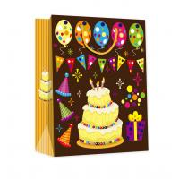 Quality Euro Style Paper Shoppers for Gift Packaging for Party, Holiday, Wedding for sale