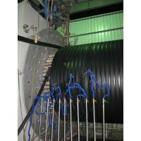 Quality 200-3000mm PE Hollowness Wall Spiral Pipe Extruder / PE Huge Diameter Wall Sprial Pipe Line for sale