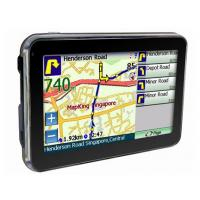 Quality SIRF Atlas V 600MHZ 4.3 Inch TFT Touch Screen Portable Gps Navigation Systems for Cars for sale
