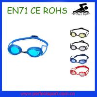 China Arena Mirror Coated swimming goggles on sale
