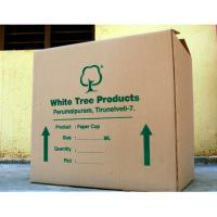 Quality Brown Printed Corrugated Boxes , Corrugated Storage Boxes Kraft Paper for sale