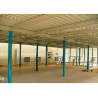 Quality Q235B Steel Multi Tier Mezzanine Powder Coated For Automobile Spare Parts for sale